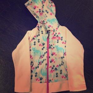 Northface zip up hoodie toddler girls 3T